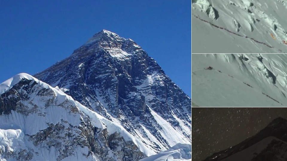 There's A Ridiculous Traffic Jam Of People Trying To Climb Mount Everest