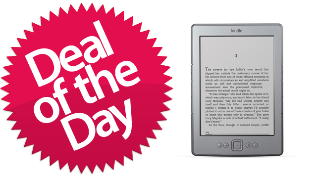 This Kindle Is Your I-Can't-Believe-It's-Not-Paper Deal of the Day [Dealzmodo]