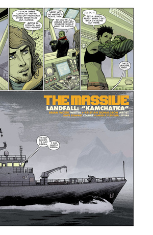The Massive Delivers a Chilling, Water-Logged Look at the End of the World