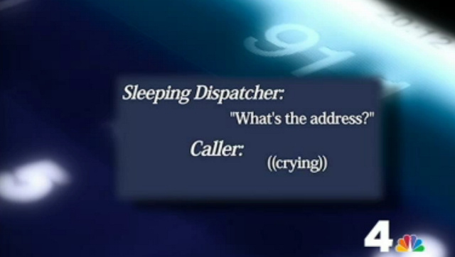 911 Dispatcher Falls Asleep, Starts Snoring as Woman Pleads for Help