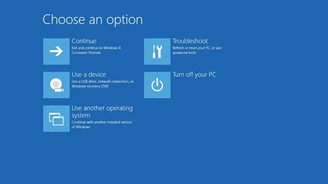 Windows 8 Boots So Fast You Can't Access The BIOS Menu