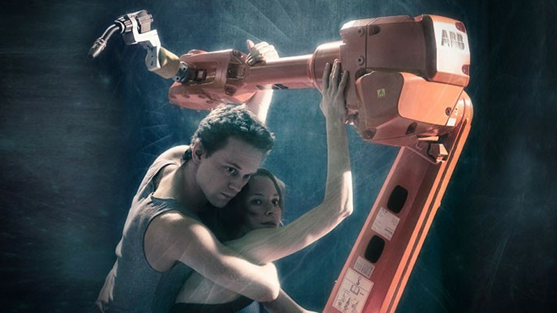 Dancing With Industrial Robot Arms Is Even Sadder Than Dancing With Yourself