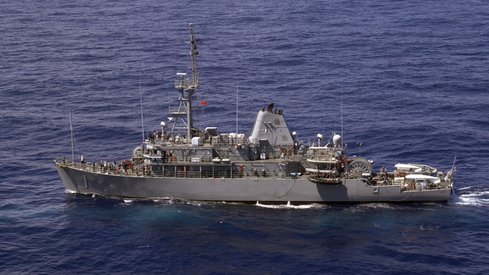 US Navy's Wooden Avengers Are Real-Life Minesweepers