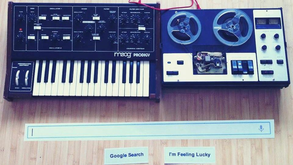 The Moog Synthesiser Google Doodle IRL