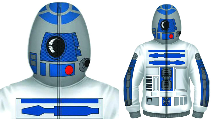 Click here to read You Don't Have To Be Drunk To Want This R2-D2 Hoodie