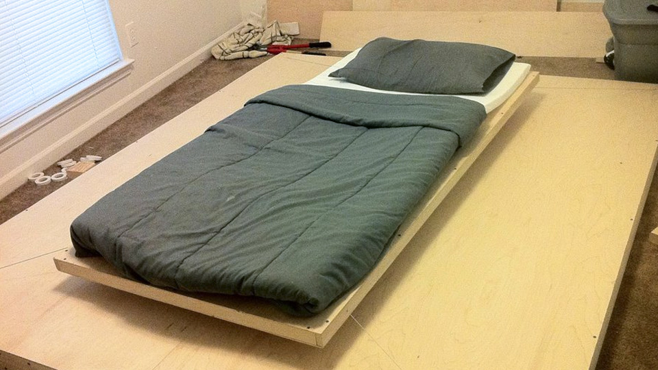 Click here to read You Probably Don't Want This Awesome Floating Maglev Bed If You're Covered in Piercings