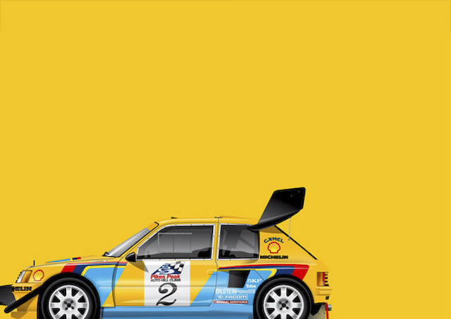 Graphic Design X Classic Race Cars
