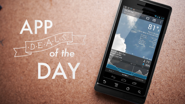 Daily App Deals: Get BeWeather & Widgets Pro for Android for 99¢ in Today's App Deals