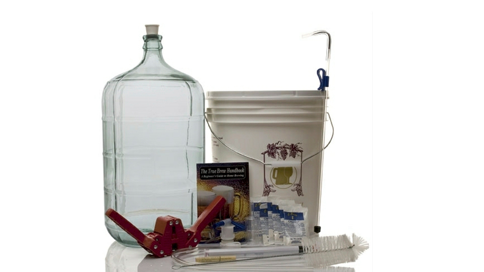 Crack Open A Six-Pack Of Your Own Creation With A Home Brewing Kit