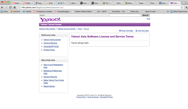 Yahoo Launches Axis Browser For iOS and Chrome, and It Actually Doesn't Suck (Updated)