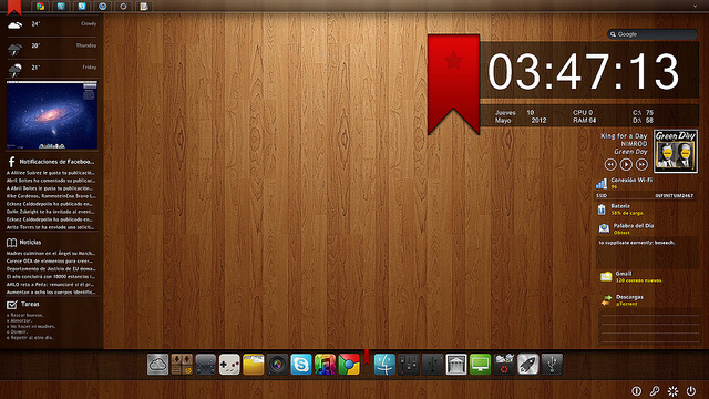 The Red Ribbon Desktop