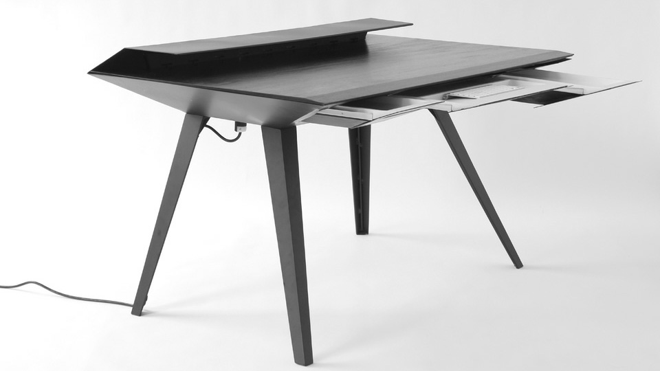 Stay Off Your Boss's Radar With This Stealth-Inspired Desk