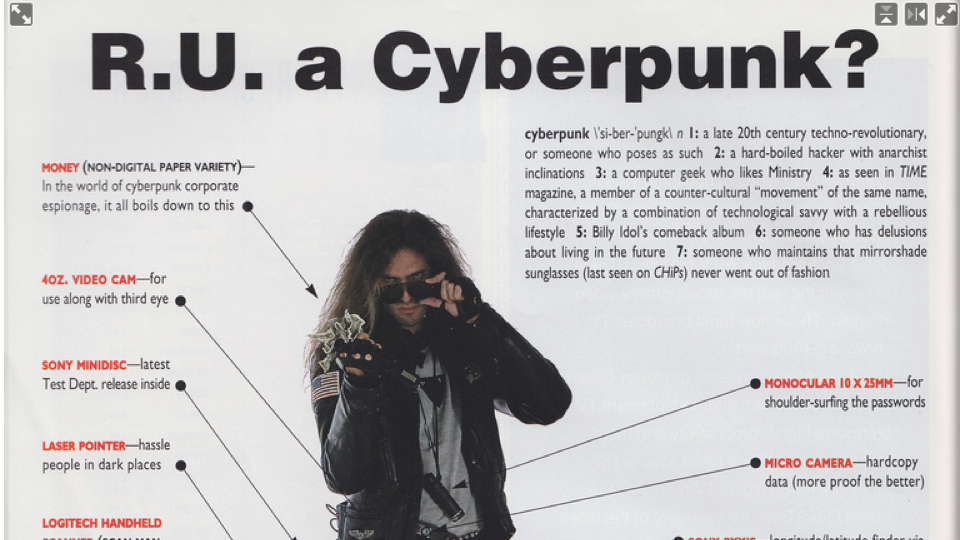 Are You A True Cyberpunk? Consult This '90s Guide To Find Out