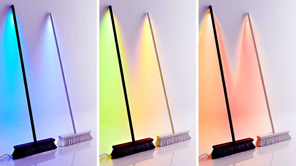 Click here to read LED Broom Lamp Sweeps Away the Darkness of Your Home