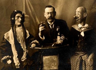 Vintage ventriloquism portraits were incredibly unnerving