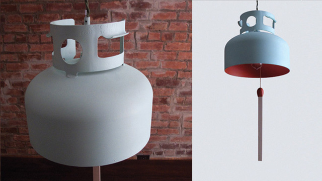 The Best Way to Recycle a Propane Tank Is to Make It a Lamp