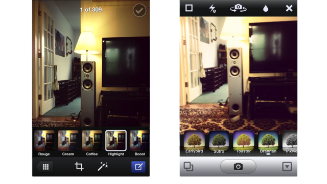 Facebook Camera vs. Instagram: Ultimate Mobile Photo Sharing Smackdown