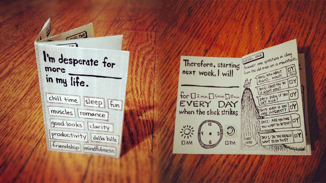 Click here to read Hipster Habit App Is a Pocketable, Printable Mini-Book Designed to Help You Create or Remove Habits in 30 Days