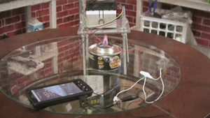 Charge Your Phone with a DIY Candle-Powered Charger
