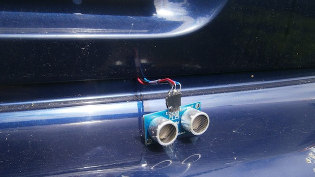 DIY Sonic Distance Sensors to Improve Your Parallel Parking