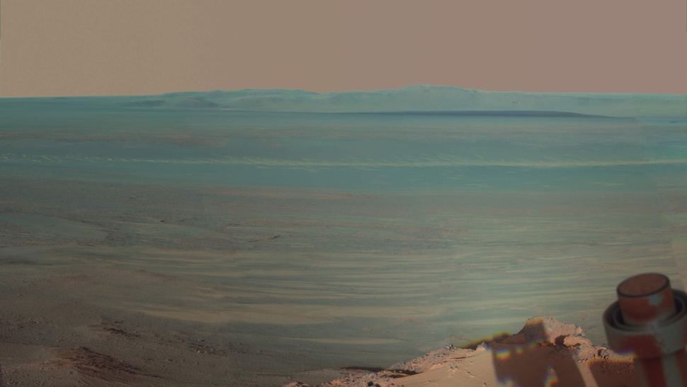 NASA's Opportunity rover snaps a rare self-portrait