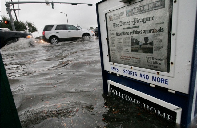 The Times-Picayune and the Completely Logical Collapse of the Newspaper Industry