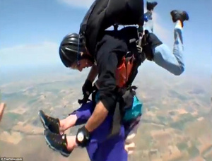 You'll Never Want to Skydive After Watching This