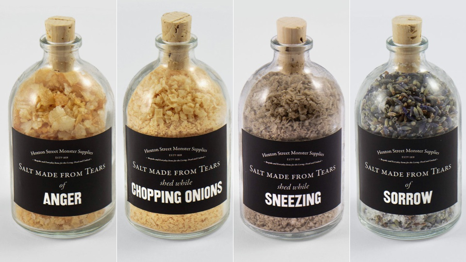 Season Your Food With Salt Made From Real Human Tears