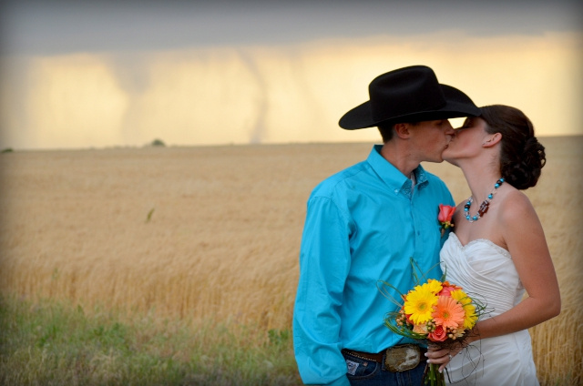 Sign From God?: Tornado Shows Up Uninvited to Kansas Wedding Ceremony