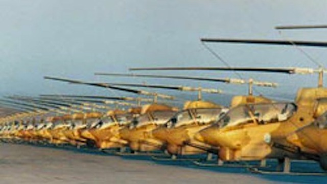 Click here to read Iran Is Building 'New' Helicopters Based Around 50-Year-Old American Technology