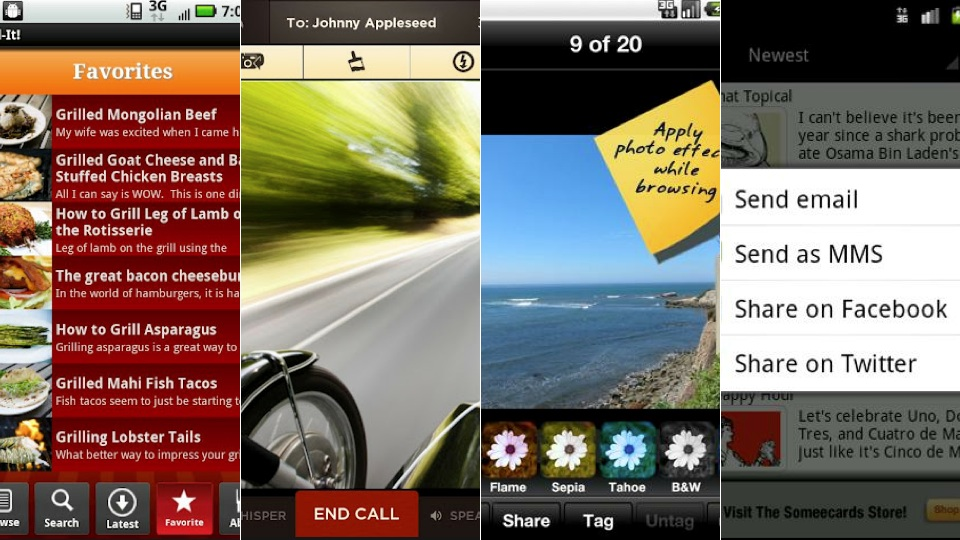 New Android Apps: Bump, Sidecar.me And More
