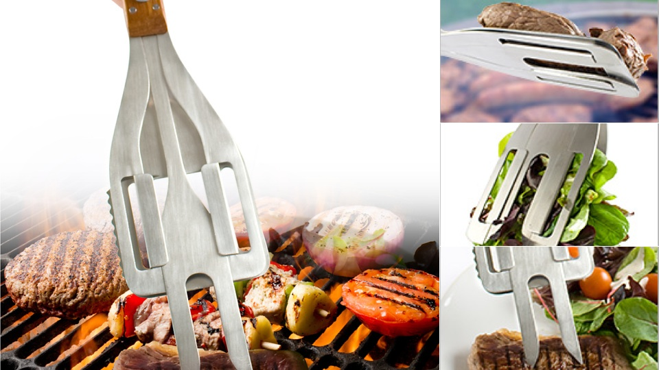 Click here to read Three Tools Combine To Give You One Ultimate Grill Stake
