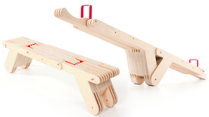 There Needs To Be an Adult Version of This Transforming Seesaw Bench