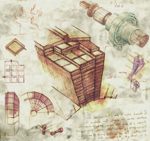 What if Leonardo da Vinci designed the Large Hadron Collider?
