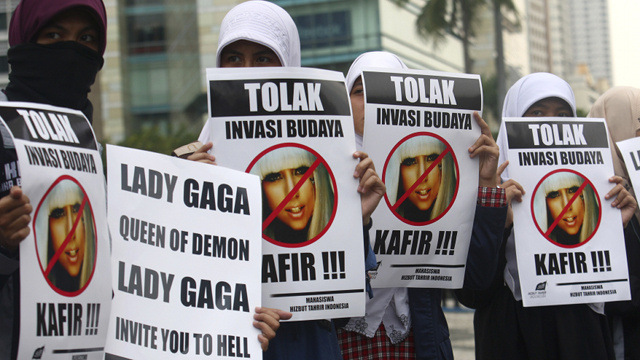'Messenger of the Devil' Lady Gaga Forced to Cancel Indonesia Concert
