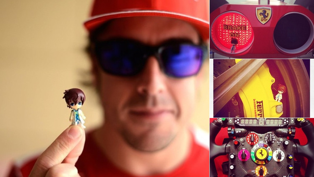This Formula One Champ is a Big Japanese Role-Playing Game Geek
