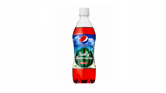 This Summer, Drink Up Salty Watermelon Pepsi in Japan