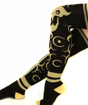 Ladies, Keep Your Knees Warm With Giant Diablo Socks