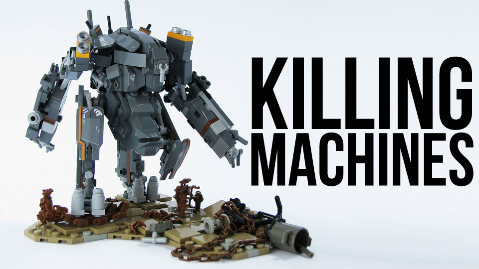 Click here to read The Incredible World of Giant LEGO Mechs