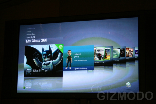 Xbox 360 Fall Dashboard Update Details
