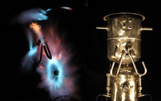 Jet-Engine-Alike Fire Sculpture Will Please Your Inner Pyromaniac