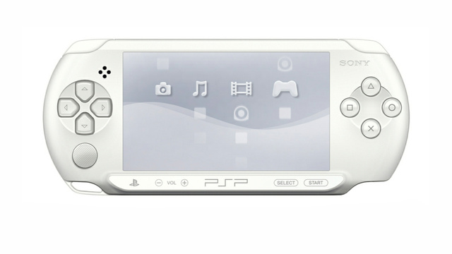 Europe Getting a New PSP Color. It's Ice White.