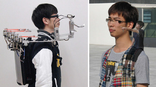Crazy Shoulder Robot Turns Your Friends Into Jiminy Cricket