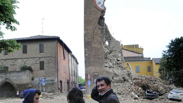 Ten Dead in New Italian Earthquake