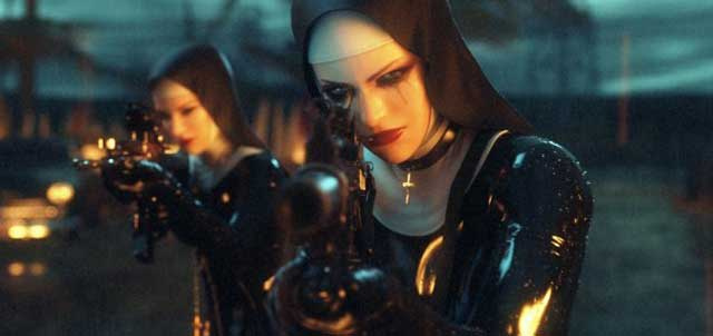 What Does a Squad of Gun-Toting Fetish Nuns Have to Do With Hitman: Absolution?