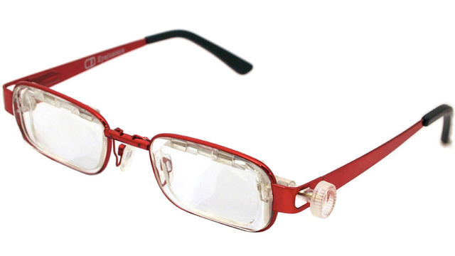 Adjustable Sliding Lens Glasses Let You Tweak Your Prescription
