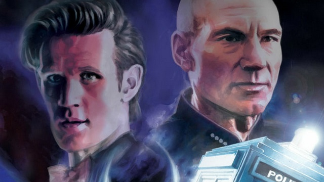 In this week's comics, Doctor Who and Star Trek cross universes!