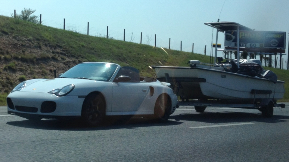 Click here to read Use A Porsche To Tow A Boat