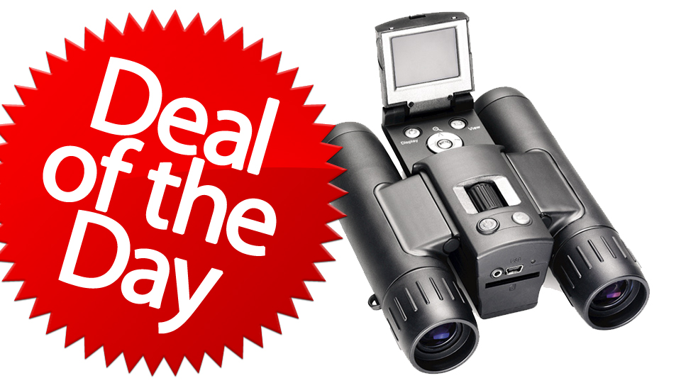These Digital Camera Binoculars Are Your Record-What-You-See Deal of the Day [Dealzmodo]