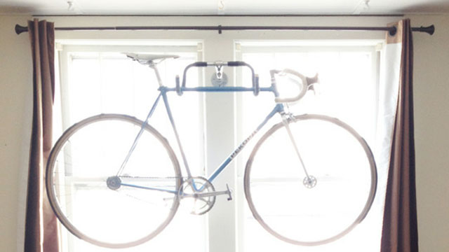 Click here to read Make a Quick and Easy Bike Rack Using Old Bike Parts